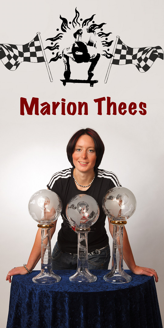 Marion Thees - Weltcup-Pokale
